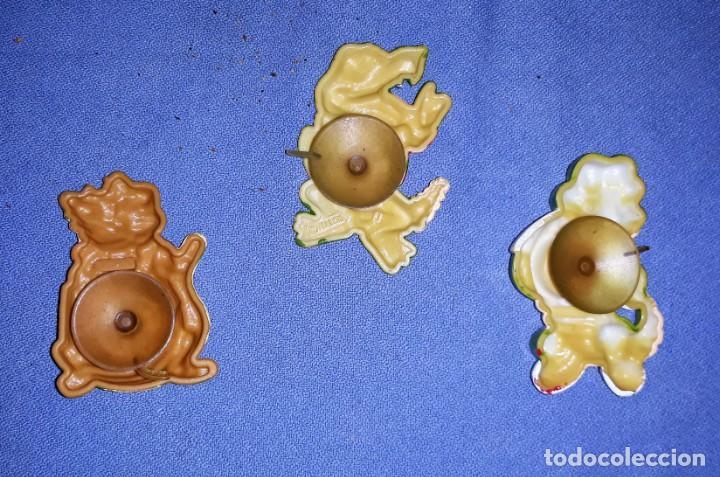 Figuras Kinder: FIGURAS DE LOS HUEVOS KINDER COCODRILOS GRANDES CON VENTOSA EN MUY BUEN ESTADO ORIGINALES - Foto 2 - 145321438