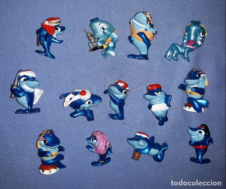 FIGURAS DE LOS HUEVOS KINDER TIBURONES EN MUY BUEN ESTADO ORIGINALES (Juguetes - Figuras de Gomas y Pvc - Kinder)