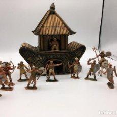Figuras de Goma y PVC: HUNOS DE JECSAN Y MAS. Lote 145377486