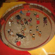 Figuras de Goma y PVC: PLAZA DE TOROS GRANDE DE TEIXIDO DE 52CM X 52CM . Lote 145391206