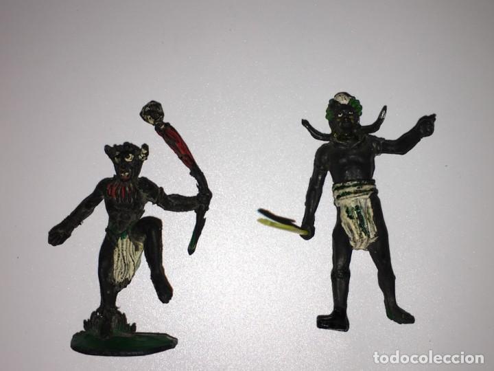 Figuras de Goma y PVC: RECEPCION EN POBLADO AFRICANO - Foto 4 - 145395154