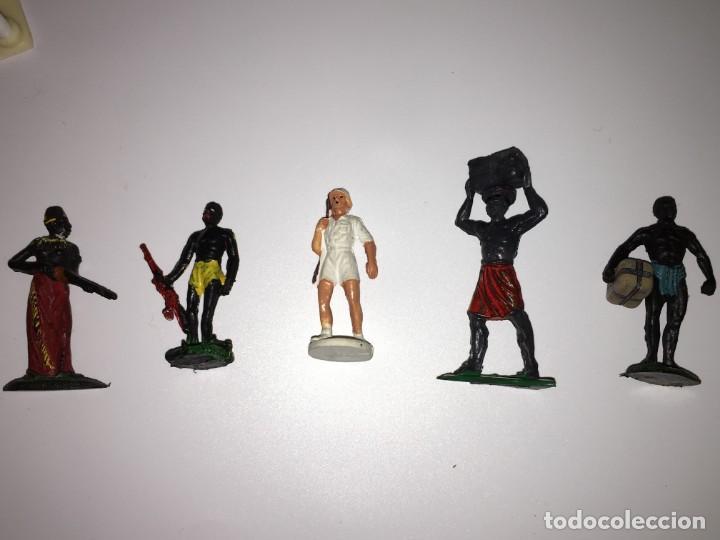 Figuras de Goma y PVC: RECEPCION EN POBLADO AFRICANO - Foto 5 - 145395154
