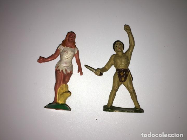 Figuras de Goma y PVC: RECEPCION EN POBLADO AFRICANO - Foto 6 - 145395154