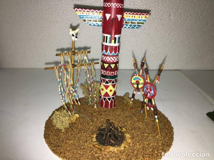 Figuras de Goma y PVC: CAMPAMENTO INDIO - Foto 2 - 145399962