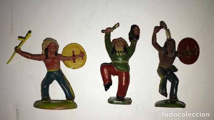 Figuras de Goma y PVC: CAMPAMENTO INDIO - Foto 3 - 145399962
