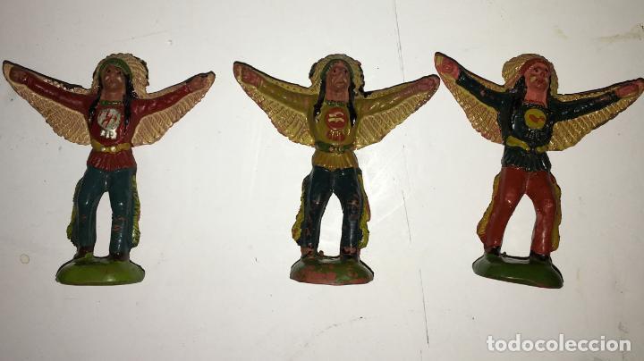 Figuras de Goma y PVC: CAMPAMENTO INDIO - Foto 4 - 145399962
