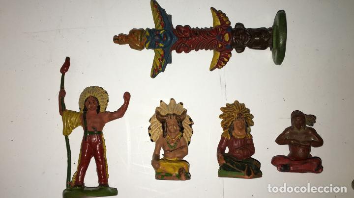 Figuras de Goma y PVC: CAMPAMENTO INDIO - Foto 5 - 145399962
