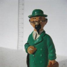 Figuras de Goma y PVC: FIGUARA GOMA O PVC PROFESOR TORNASOL TIN TIN . Lote 145508266