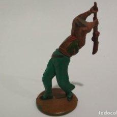 Figuras de Goma y PVC: FIGURA VAQUERO GAMA DESMONTABLES. Lote 145531562