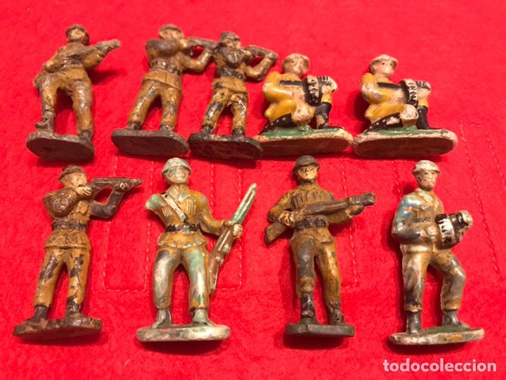 SOLDADOS BAQUELITA (Juguetes - Figuras de Goma y Pvc - Teixido)