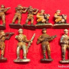 Figuras de Goma y PVC: SOLDADOS BAQUELITA. Lote 145592516