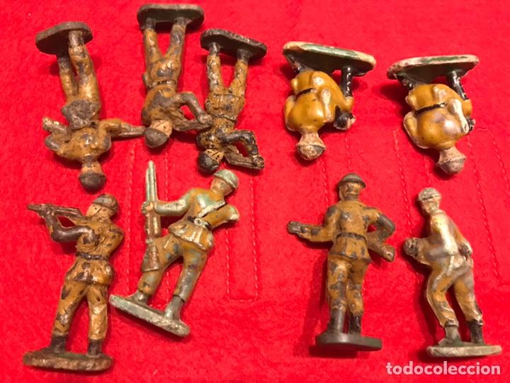Figuras de Goma y PVC: Soldados baquelita - Foto 2 - 145592516