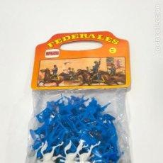 Figuras de Goma y PVC: NOVOLINEA FEDERALES YANKIES. NUEVO A ESTRENAR. Lote 145619230