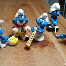 Figuras de Goma y PVC: LOTE DE PITUFOS. Lote 145662077
