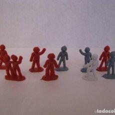 Figuras de Goma y PVC: MONTAPLEX ASTRONAUTAS. Lote 145665258