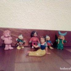 Figuras de Goma y PVC: GUISVAL Y OTROS. FIGURAS PERSONAJES ANTIGUOS. Lote 145752862
