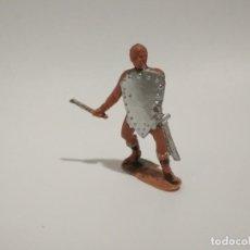 Figuras de Goma y PVC: FIGURA TÁRTARO JECSAN AÑOS 60. Lote 145755498