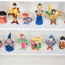Figuras Kinder: JUEGO COMPLETO FUNNY CASTLE - EL TORNEO REAL. COLECCIÓN COMPLETA KINDER FERRERO.. Lote 129286951