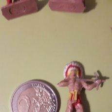 Figuras de Goma y PVC: INDIO MINI OESTE COMANSI. Lote 145837490