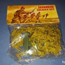 Figuras de Goma y PVC: SOLDADOS JAPONESES-JAPANESE SOLDIER- MONTAPLEX. Lote 145904262
