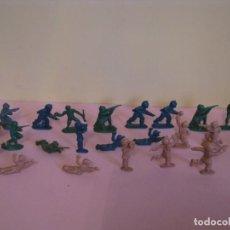 Figuras de Goma y PVC: FIGURAS SOLDADOS. 3 CM.. Lote 145919870