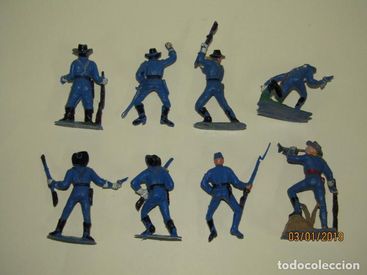 Figuras de Goma y PVC: Antiguo Conjunto YANKEES en Plástico Pintado de JECSAN - Tipo Comansi Reamsa Pech - Foto 2 - 145931922