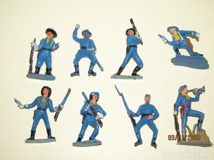 Figuras de Goma y PVC: Antiguo Conjunto YANKEES en Plástico Pintado de JECSAN - Tipo Comansi Reamsa Pech - Foto 4 - 145931922