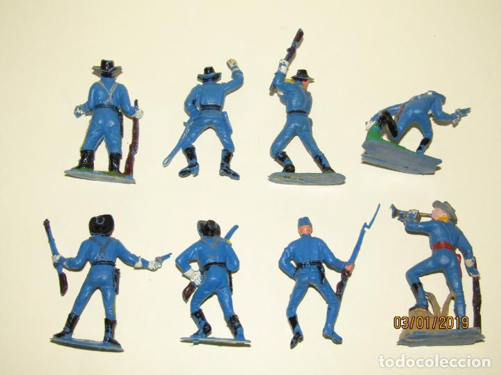 Figuras de Goma y PVC: Antiguo Conjunto YANKEES en Plástico Pintado de JECSAN - Tipo Comansi Reamsa Pech - Foto 5 - 145931922