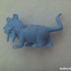 Figuras de Goma y PVC: FIGURA DE DUNKIN DE HANNA BARBERA : LOS PICAPIEDRAS , TIGRE DIENTES DE SABLE.. Lote 145943178