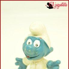 Figuras de Goma y PVC: PIT 93 - PITUFOS SMURFS PEYO - W GERMANY - PITUFO BEBE NIÑO. Lote 145952554