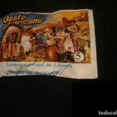 Figuras de Goma y PVC: OESTE AMERICANO - ORIGINAL AÑOS 80. Lote 146043102