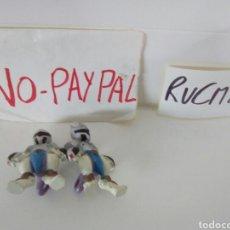 Figuras de Goma y PVC: LOTE CREO Q DE DOS FIGURAS MUÑECOS TOMY POKEMON. Lote 180151270