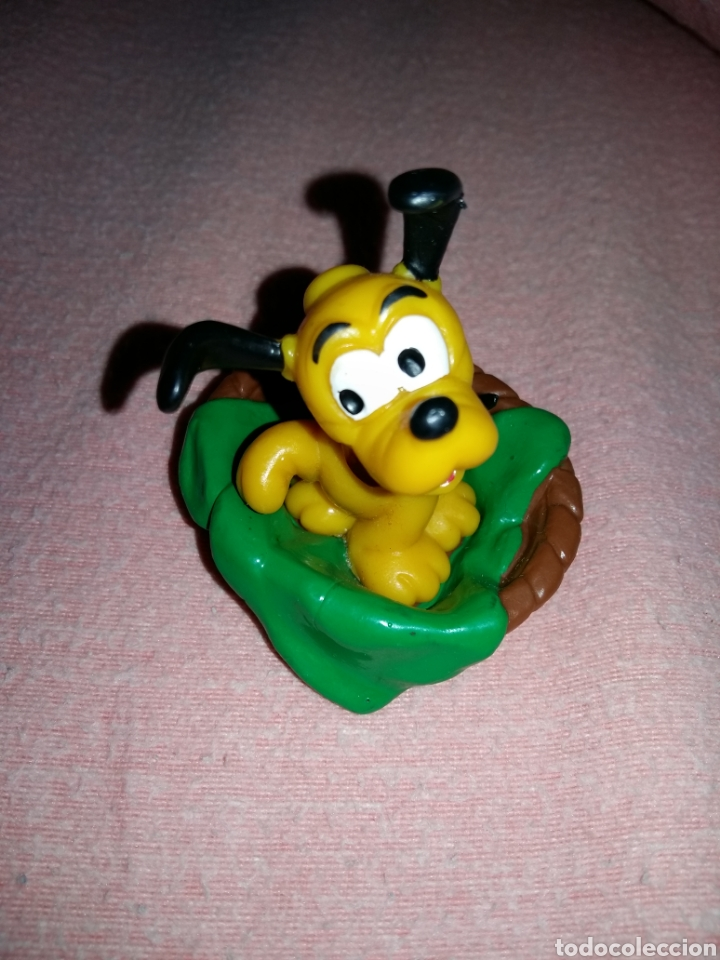 Figura Pvc Goma Pluto Bebe Bully The Walt Disne Comprar Figuras De