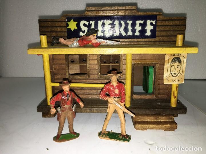 OFICINA DEL SHERIFF (Juguetes - Figuras de Goma y Pvc - Jecsan)