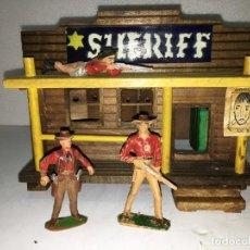 Figuras de Goma y PVC: OFICINA DEL SHERIFF. Lote 146260658