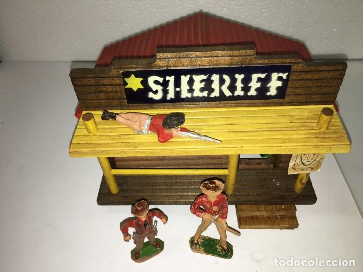 Figuras de Goma y PVC: OFICINA DEL SHERIFF - Foto 2 - 146260658