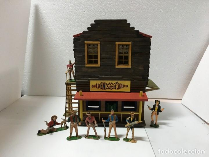 Figuras de Goma y PVC: EL SALOON DE VIRGINIA CITY - Foto 1 - 146272854