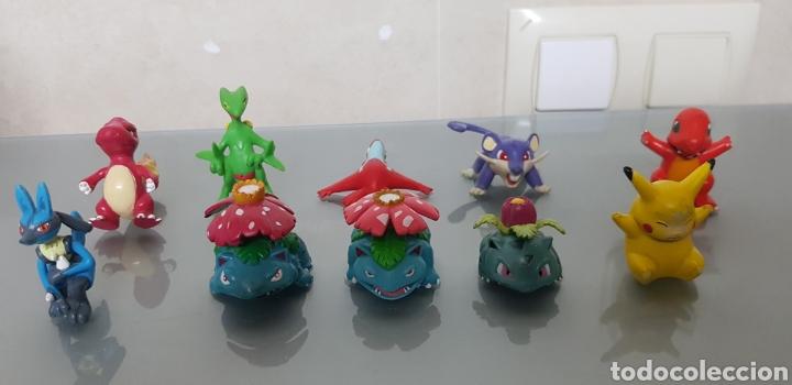LOTE 10 POKEMON FIGURAS PVC NINTENDO TOMY (Juguetes - Figuras de Goma y Pvc - Otras)