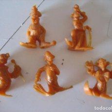 Figuras de Goma y PVC: MONTAPLEX. Lote 146305710