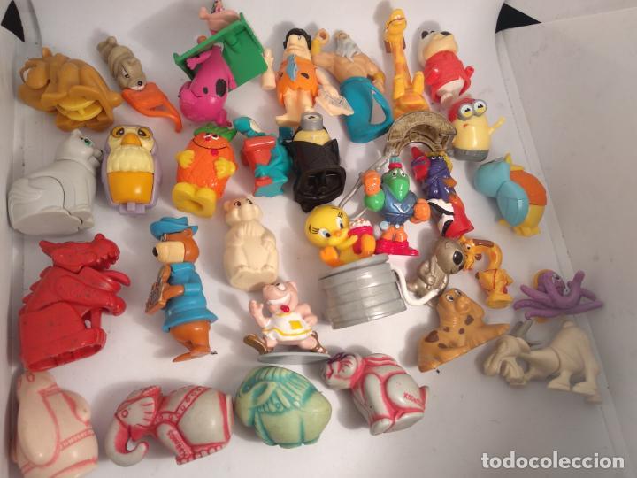 LOTE DE 30 FIGURAS FERRERO KINDER (Juguetes - Figuras de Gomas y Pvc - Kinder)
