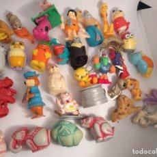 Figuras Kinder: LOTE DE 30 FIGURAS FERRERO KINDER. Lote 146482706