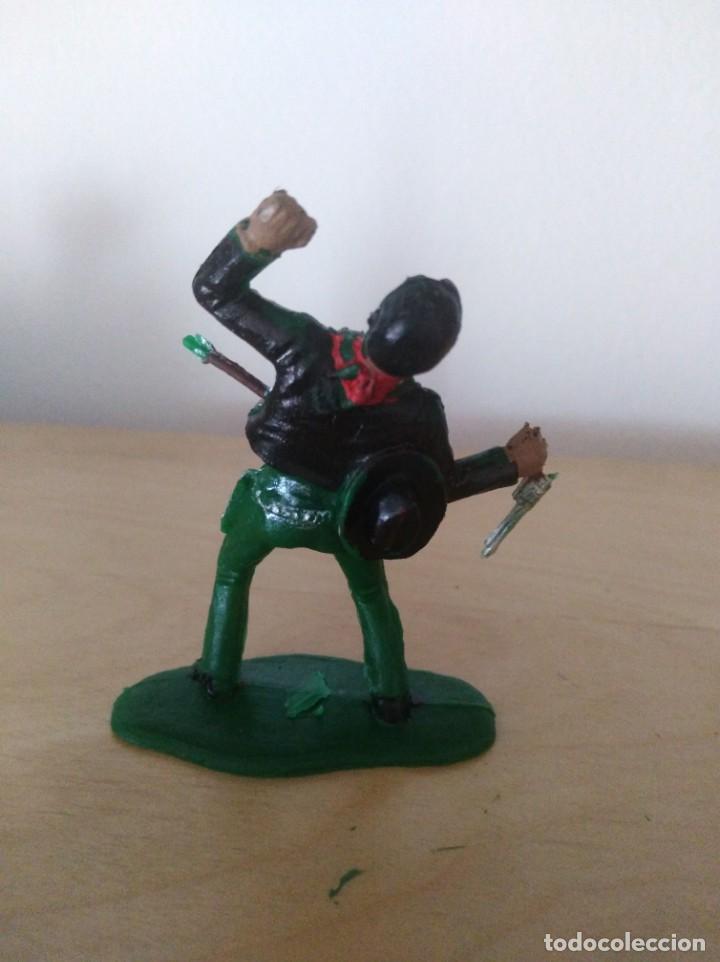 Figuras de Goma y PVC: Figura oeste indios y vaqueros vaquero herido little big horn reamsa - Foto 2 - 146528354