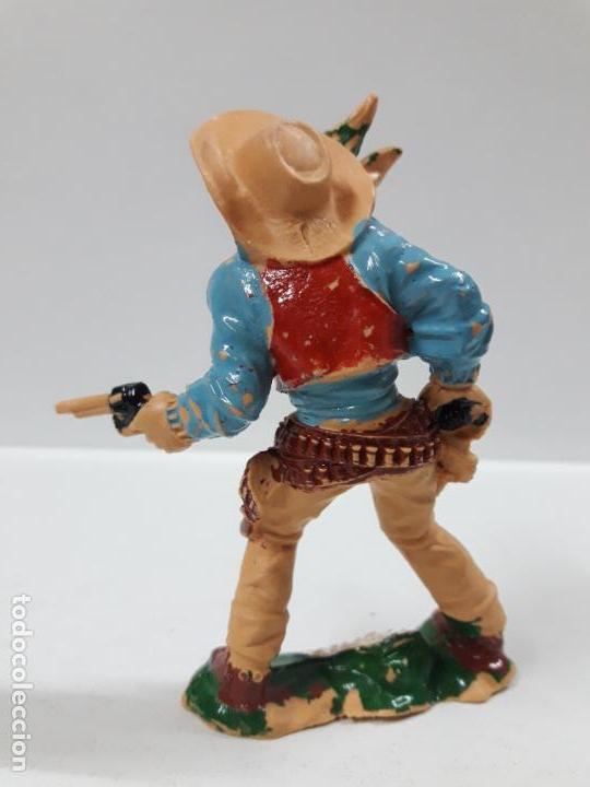 Figuras de Goma y PVC: VAQUERO - COWBOY . REALIZADO POR LAFREDO . AÑOS 60 . ALTURA 9 CM - Foto 2 - 146565022