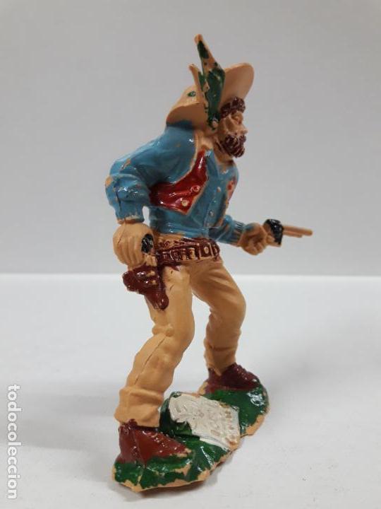 Figuras de Goma y PVC: VAQUERO - COWBOY . REALIZADO POR LAFREDO . AÑOS 60 . ALTURA 9 CM - Foto 3 - 146565022