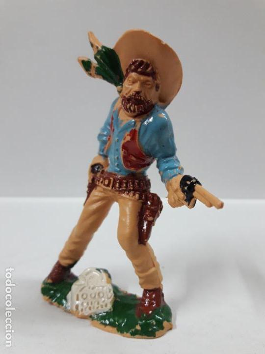 Figuras de Goma y PVC: VAQUERO - COWBOY . REALIZADO POR LAFREDO . AÑOS 60 . ALTURA 9 CM - Foto 4 - 146565022