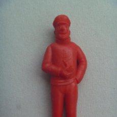 Figuras de Goma y PVC: FIGURA DE DUNKIN DE TINTIN , PREMIUM : CAPITAN HADDOCK .. DETRAS PONE ESSO.. Lote 210341955
