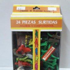 Figuras de Goma y PVC: CAJA DE TOREROS - REF 532 . REALIZADA POR JECSAN . AÑOS 60 / 70. Lote 146611378