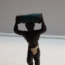 Figuras de Goma y PVC: LAFREDO ÁFRICA MISTERIOSA PORTEADOR GOMA. Lote 146741116