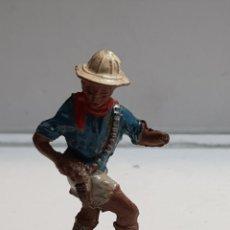 Figuras de Goma y PVC: LAFREDO ÁFRICA MISTERIOSA CAZADOR GOMA. Lote 146741458