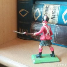 Figuras de Goma y PVC: FIGURA BRITAINS. ESCOCÉS. WATERLOO. HIGHLANDER. DEETAIL LTD. 1971. MADE IN ENGLAND.. Lote 146763510